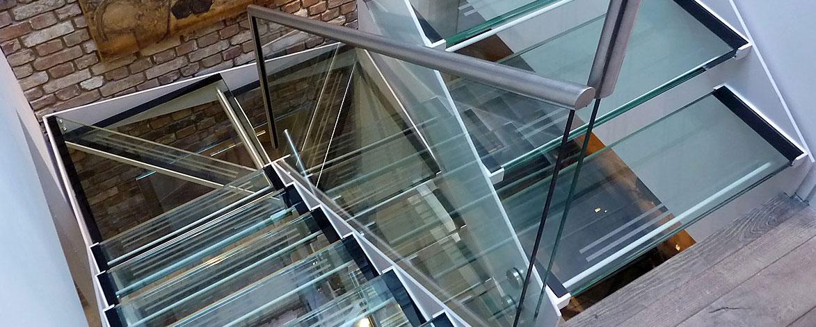 The Iron Age Metalworks - staircase