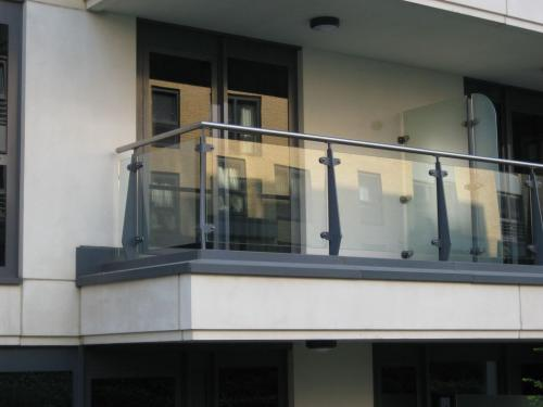 Steel and Glass Balcony | Chelsea - London