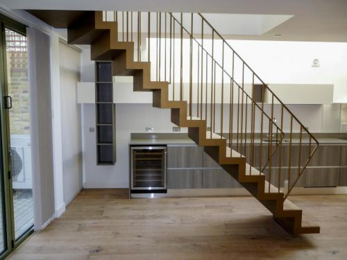 Bespoke staircase installation in Chelsea