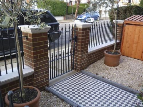 Railings & gate installation in Clapham