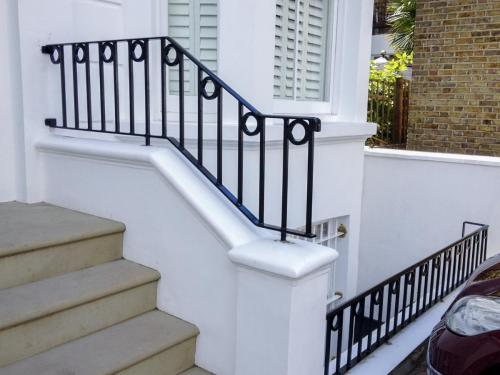 Bespoke Balustrade Installation - Earls Court