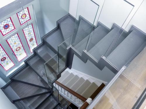 Perforated Mesh Staircase in Highgate