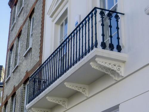 Cast Iron Balustrade - Kings Cross