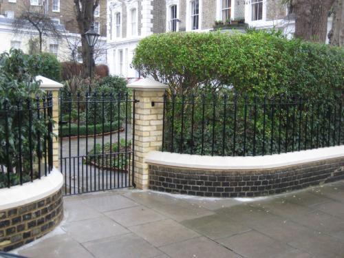 Railings & Gates   Sunningdale Street, South Kensington