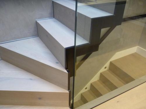 Staircase installation - Walton Street