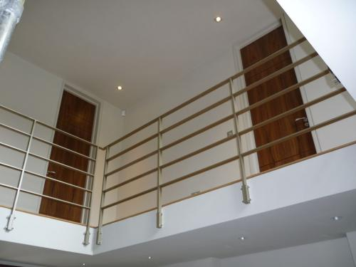 Mild Steel Balustrade | West Hampstead