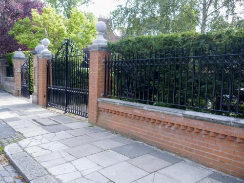 Railings and Gate installation in West Hampstead