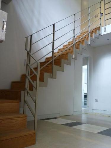 Zig-Zag Staircase | West Hampstead